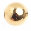 Metal Bead Round 6mm Gold